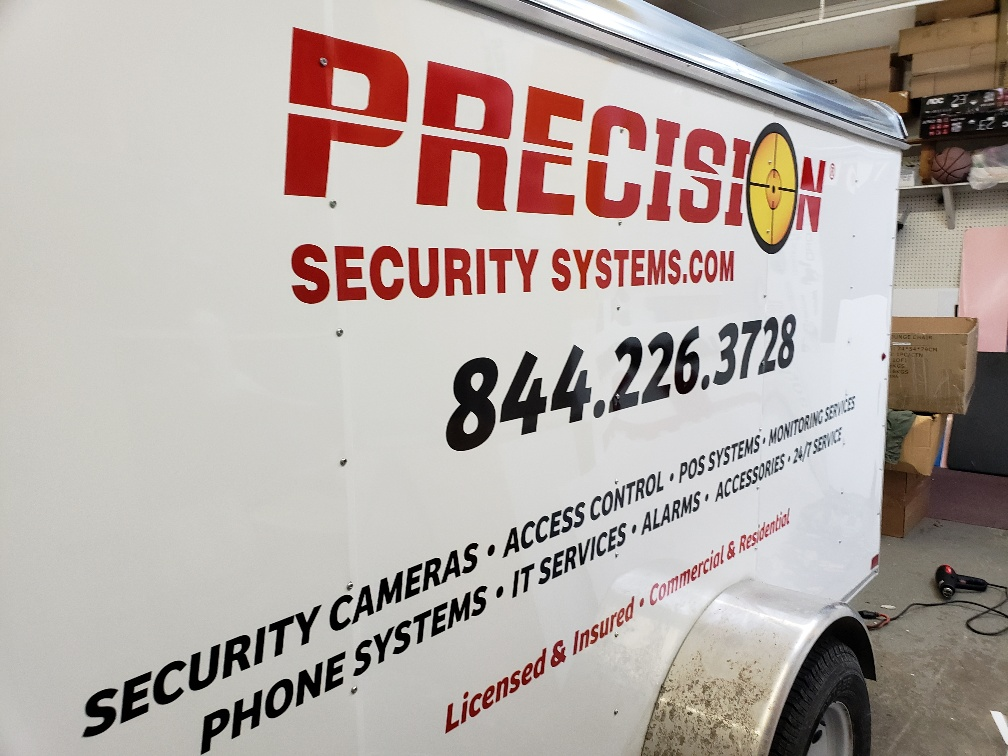 Custom Trailer Graphics and Lettering with Reflective Vinyl