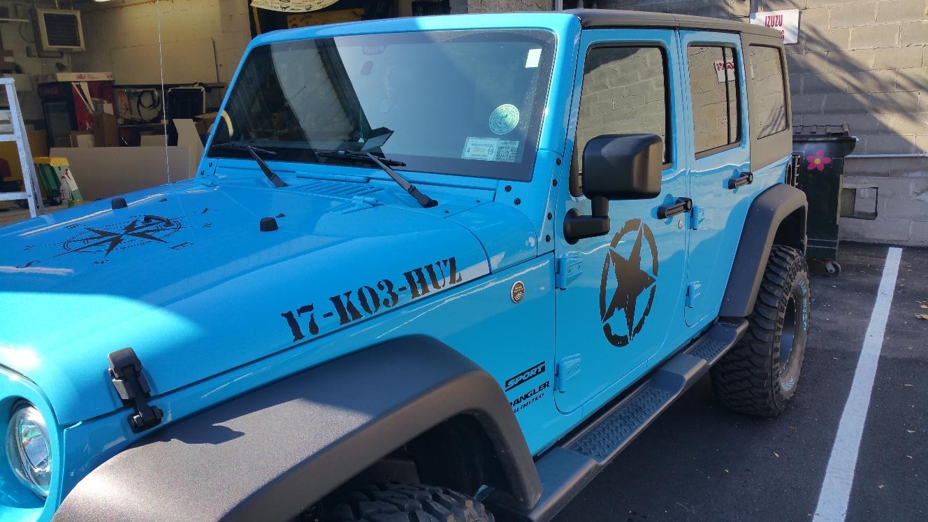 Custom Jeep Graphics