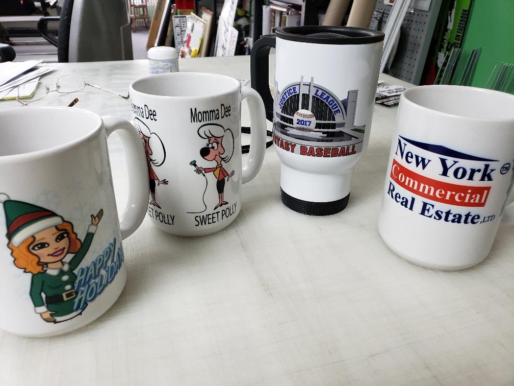 Custom Designed Mugs