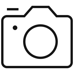 Icon of DSLR Camera to show SD Card capability
