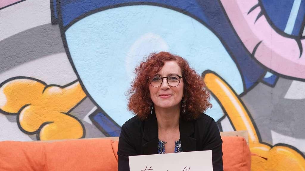 ISG-Geschäftsführerin Gloria Göllmann träumt von einer lokalen Plattform, bei der die Händler ihre Waren nach Hause liefern. Foto: Christian Beier