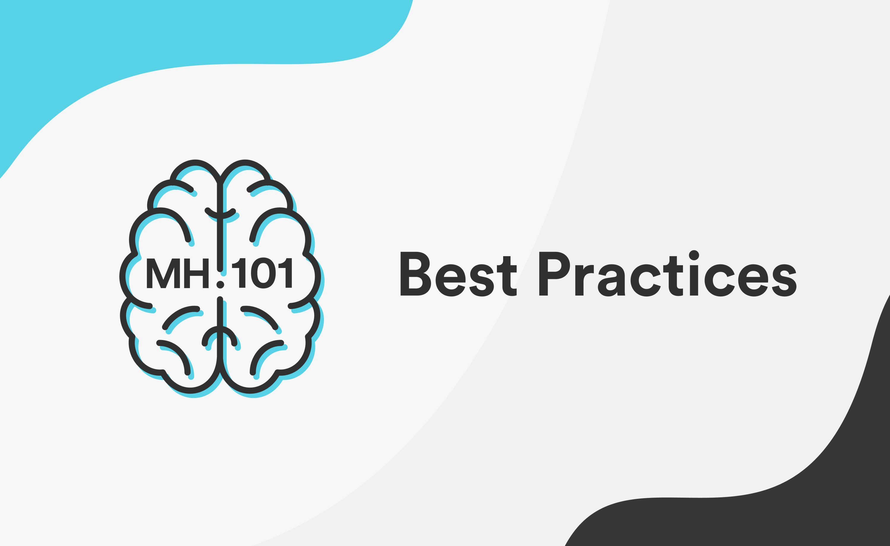 #1 Best Practices - Talking About Mental Health