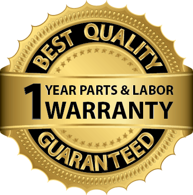 hunter electrical service offers a 1 year parts and labor warranty