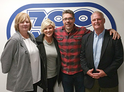 Linda Dektas with Scott Sloan and Horter