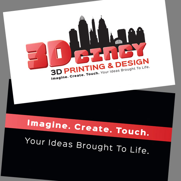 3D Cincy business card