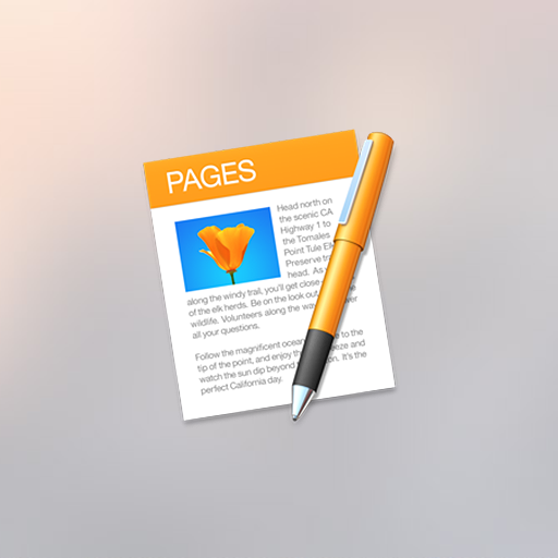 Apple iWork Pages Document