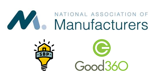 Proud to be a NAM member supporting Good360.org!