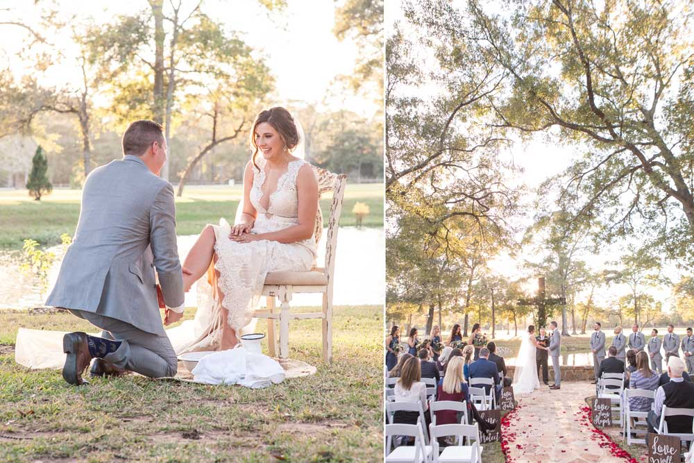 A picture perfect lakeside ceremony at Balmorhea