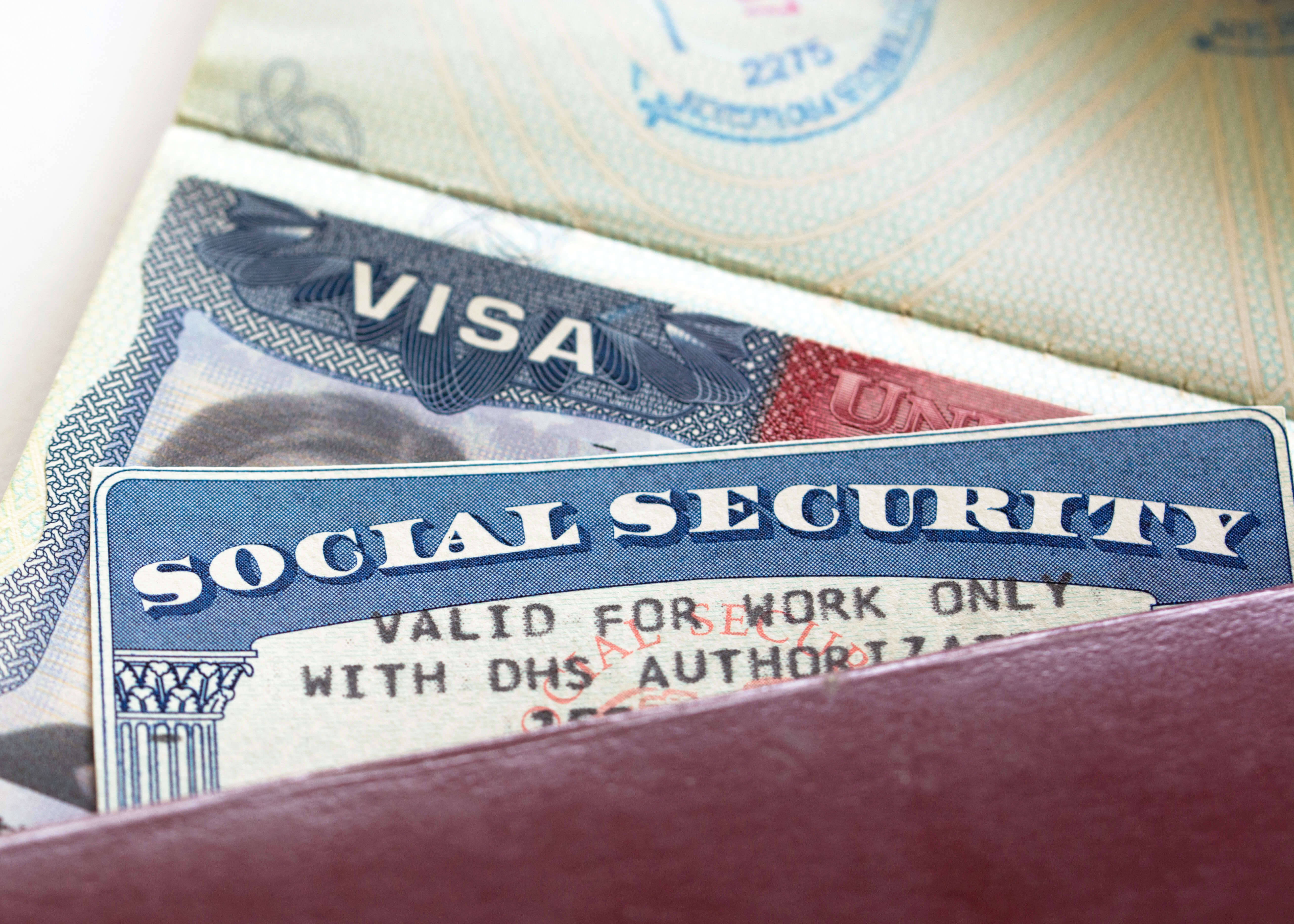 Documents required to obtain a Social Security number