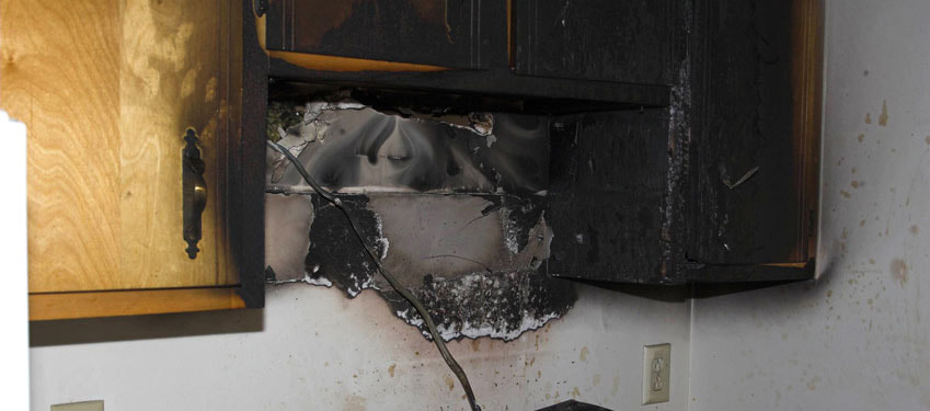 residential fire damage that we service