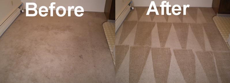 before and after carpet cleaning in fairbanks