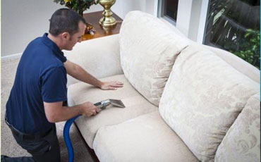 clean couch in a fairbanks home