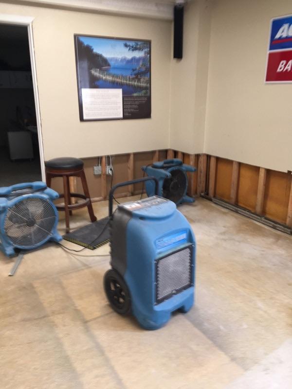 water damage restoration project in fairbanks ak