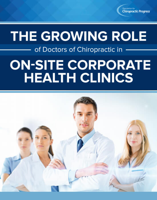 White Paper 1 - Employer adoption of Chiropractic Care