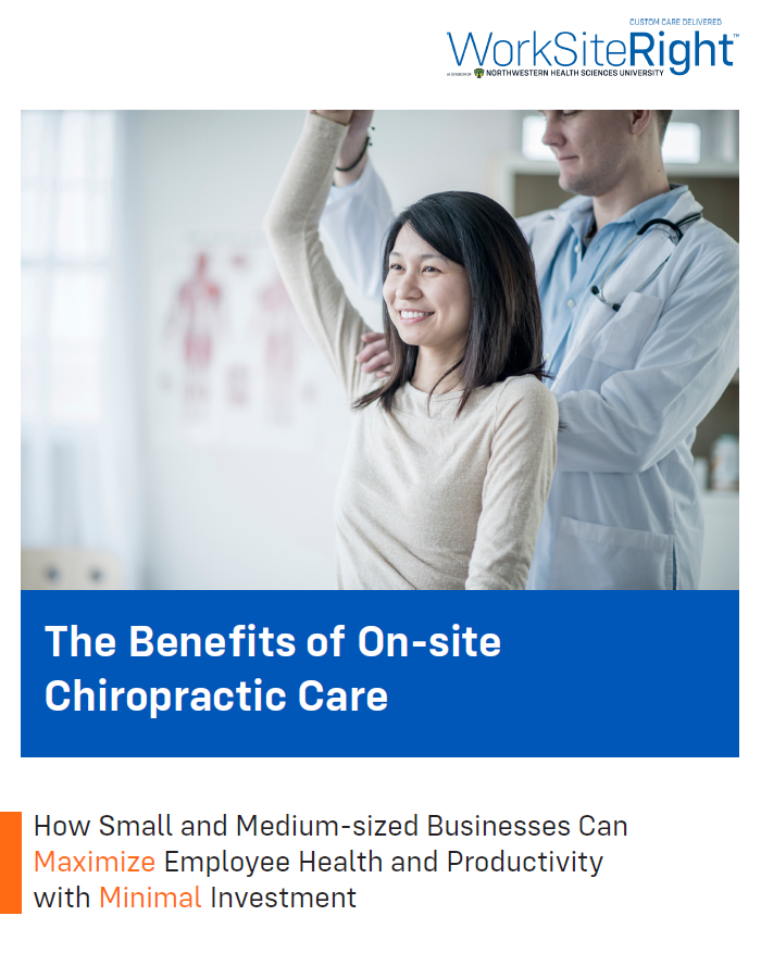 RH Strategic white paper: The Benefits of On-site Chiropractic Care