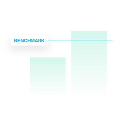 See how your population stacks up using benchmarking. Illustration.