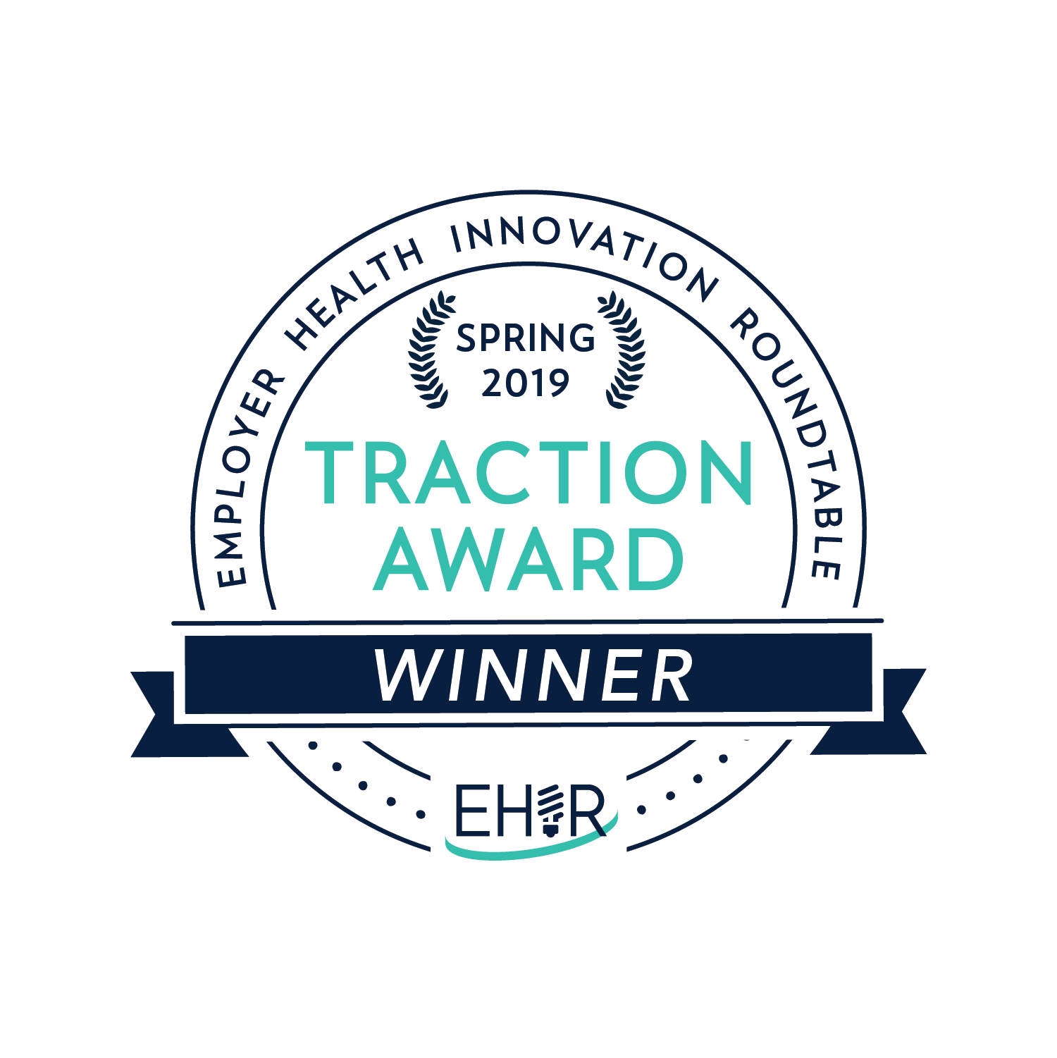 Graphic of the EHIR Traction Award.
