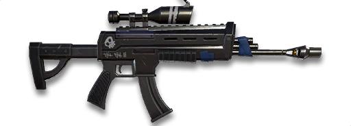 Assault Rifle (Scoped)