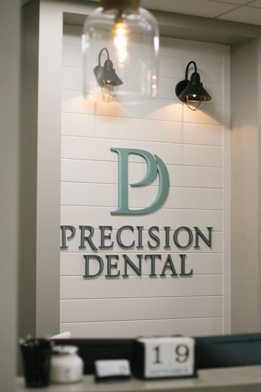 Precision Dental lobby