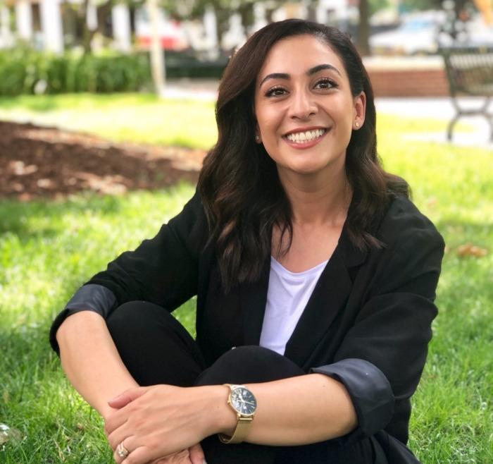 Dr. Nazanin Ghazisharif at the park