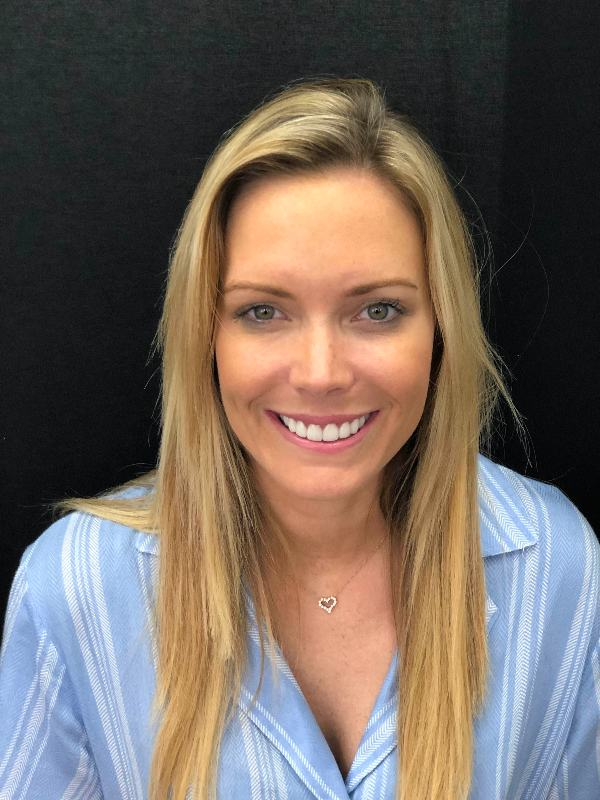 Female Veneers patient at Precision Dental