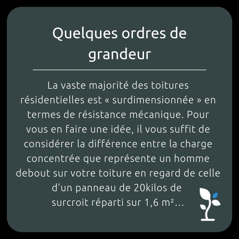 QUELQUES ORDRES DE GRANDEUR_STRUCTURE_TOITURE