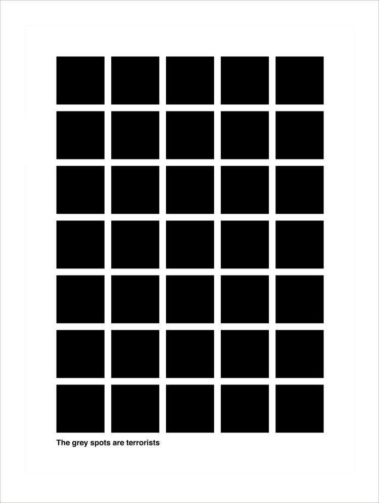The Grey Spots are Terrorists