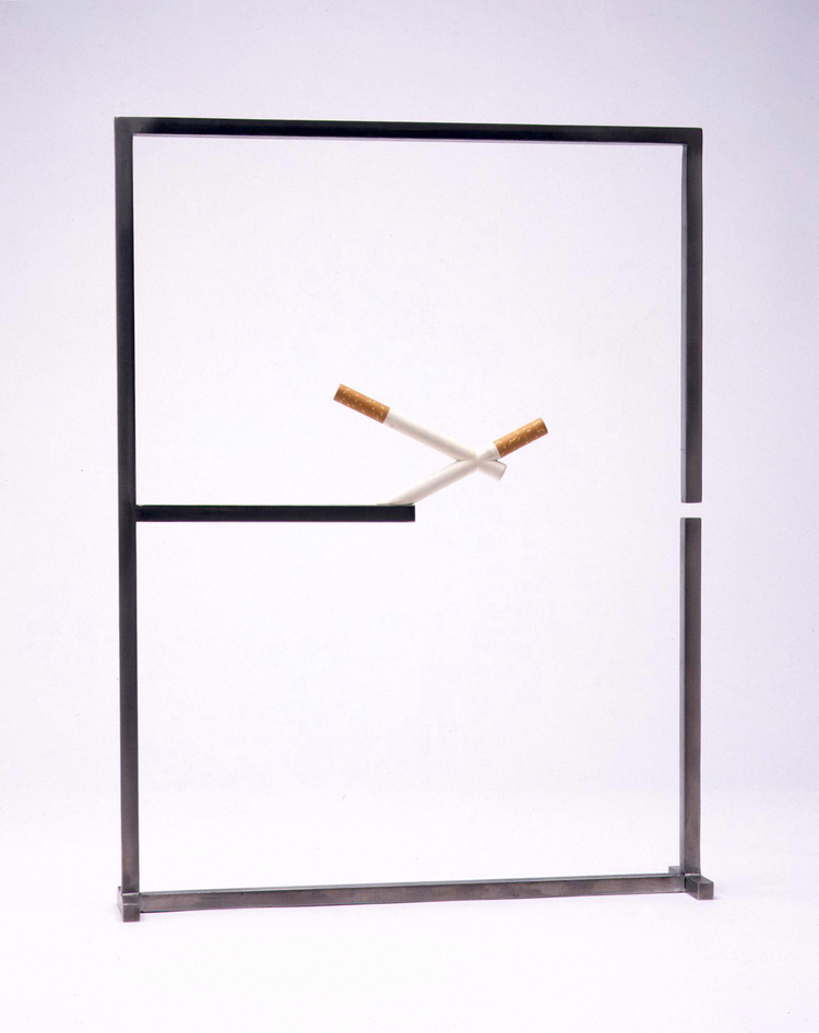Balancing conjoined cigarettes III