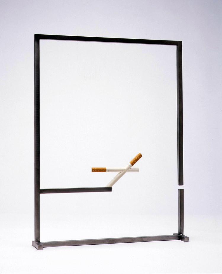 Balancing conjoined cigarettes I