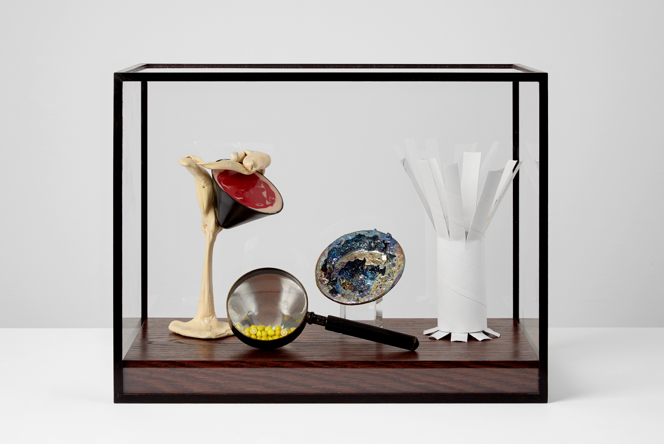 Four Martini Studies In a Glass Box