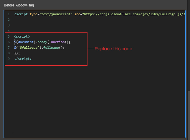 Webflow Guide Custom Code: Webflow Interactions With fullPage JS