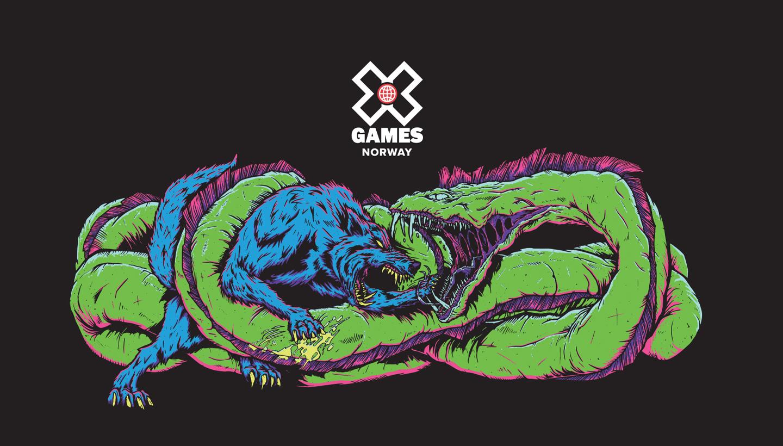 Fenrisulven fronter X Games