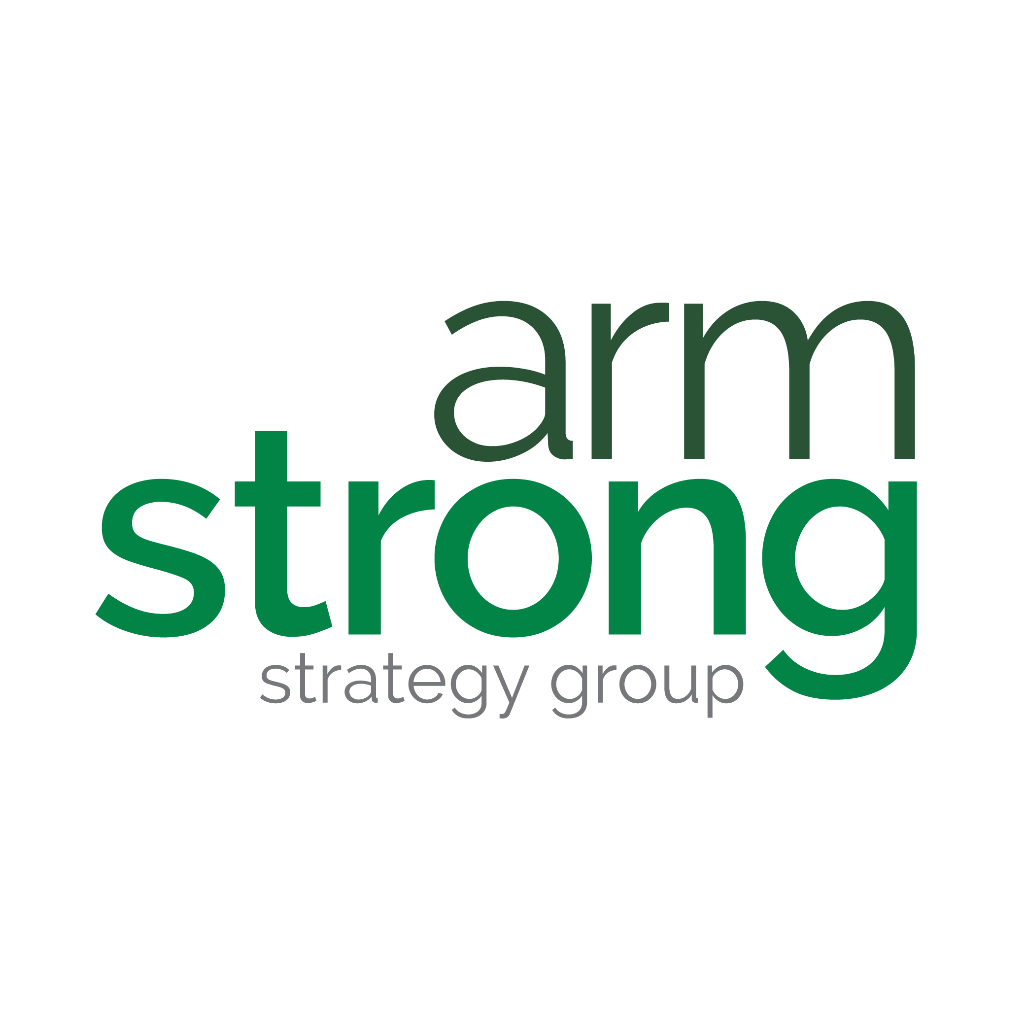 Armstrong Strategy Group logo for social media