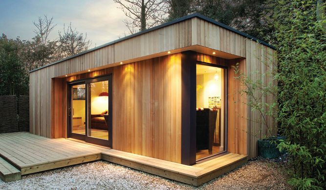an example of a garden room