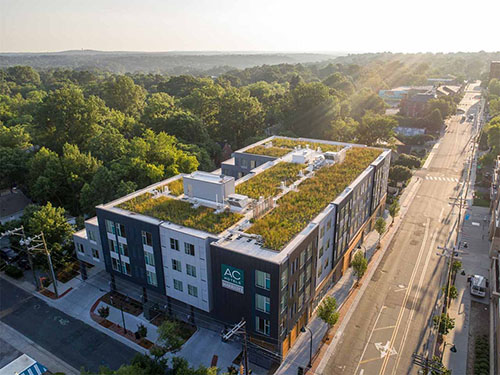 Green Roof - Living Roofs Inc - Chapel Hill, NC - Commercial Green Roof