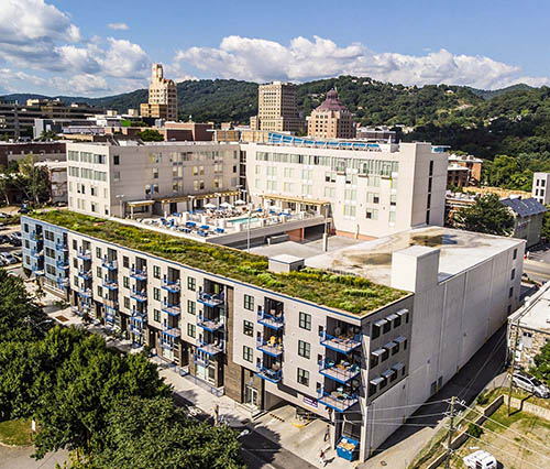 Green Roof - Living Roofs Inc - Asheville, NC - Residential Green Roof