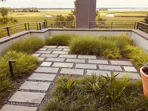 Green Roof - Living Roofs Inc - Kiawah Island, SC - Residential Green Roof