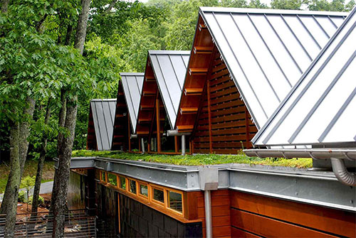 Green Roof Projects - Living Roofs, Inc. - Mountain Air Residence - Burnsville, NC - Residential Living Roof