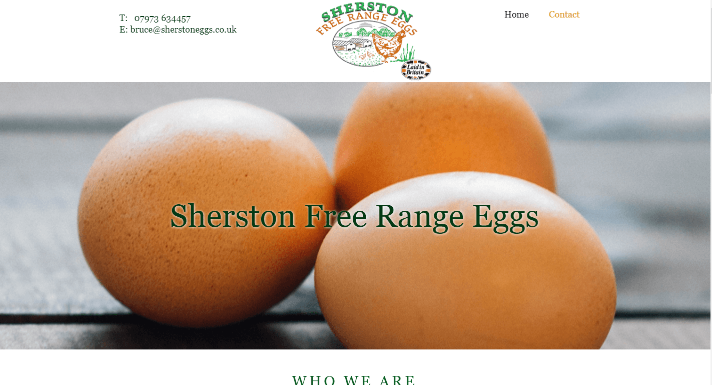 AllAbout Sites - Sherston Free Range Eggs