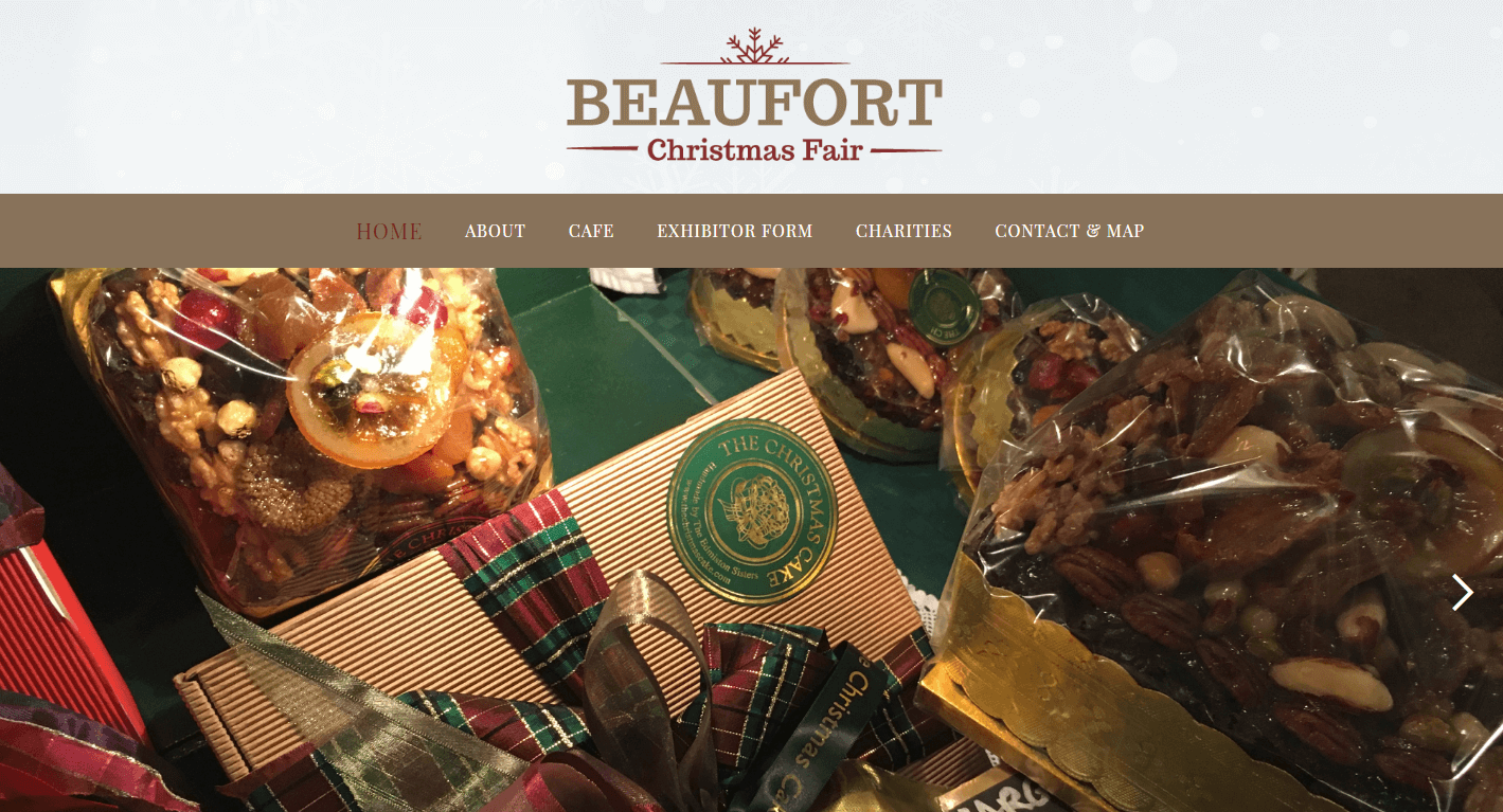 AllAbout Sites - Beaufort Christmas Fair