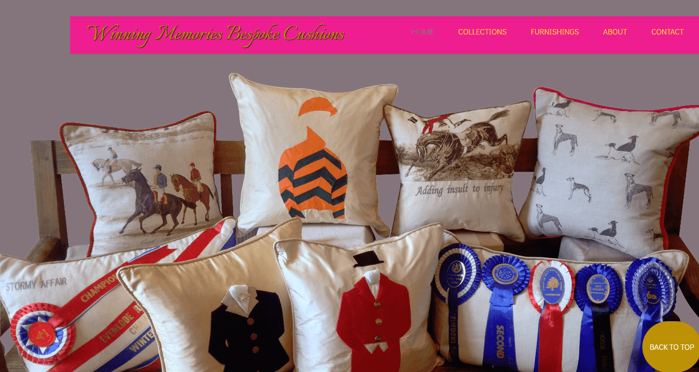 AllAbout Sites - Winning Memoroes Bespoke Cushions
