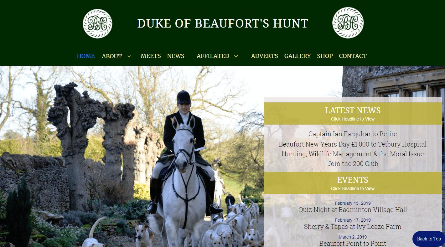 AllAbout Sites - Beaufort Hunt