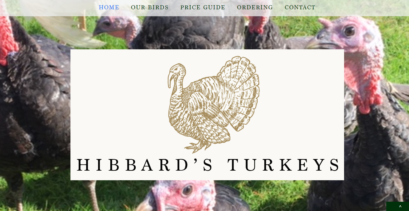 AllAbout Sites - Hibbard's Turkeys