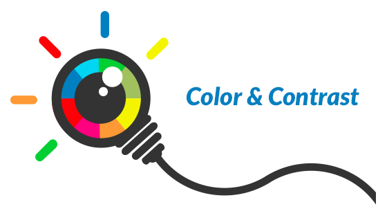 Color and Contrast Provide Clarity for Macular Degeneration