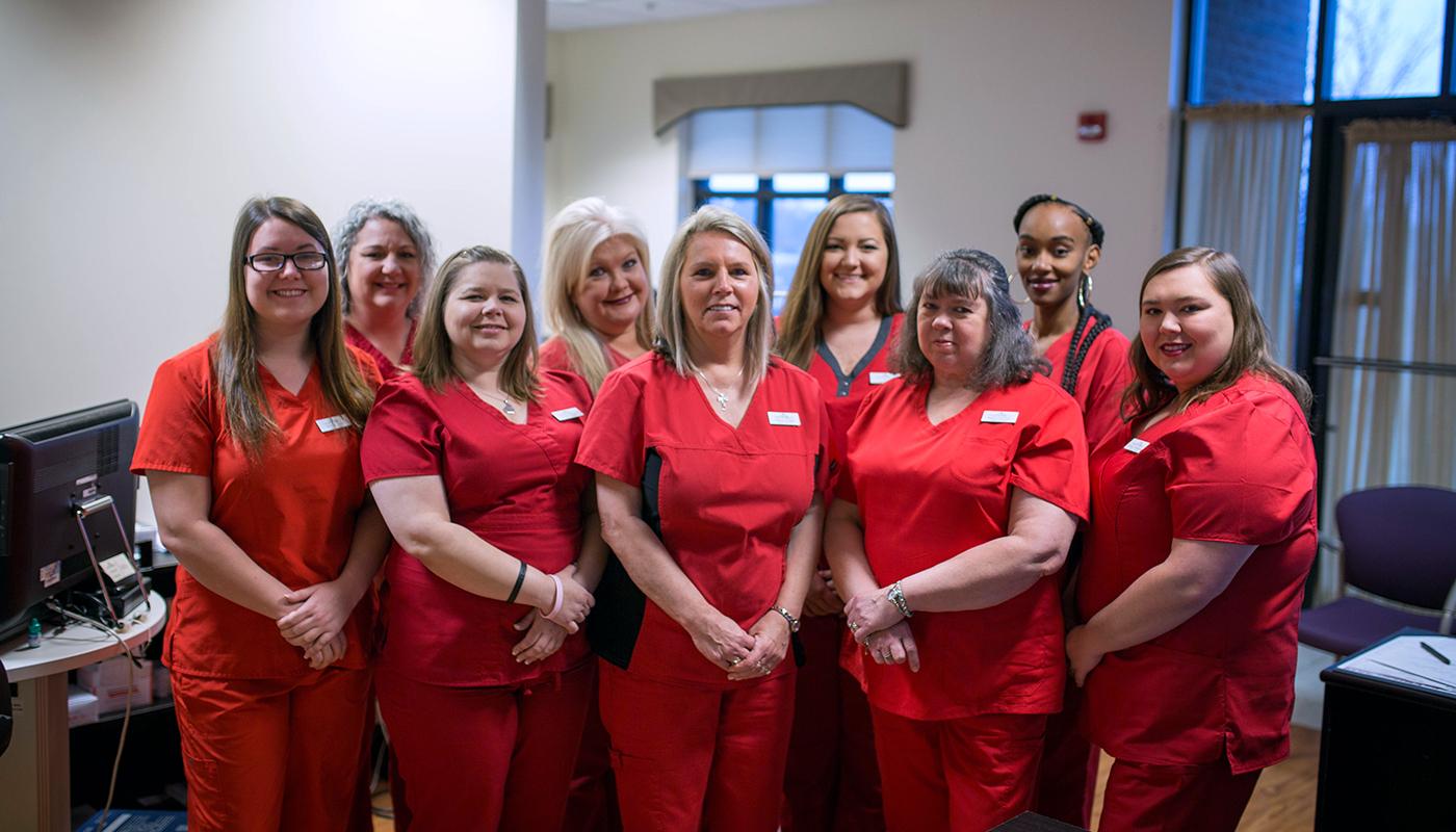 surgery scheduling staff CCFS