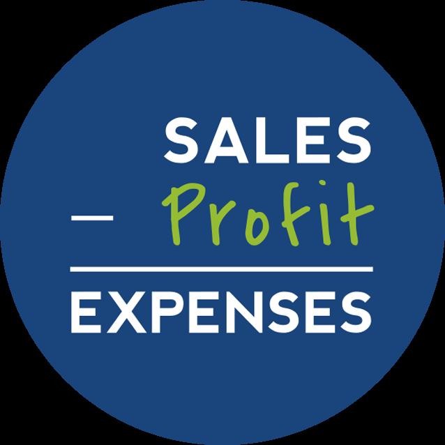 Profit First Equations Sticker |Exigo Business Solutions