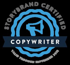 StoryBrand Certified Copywriter Badge