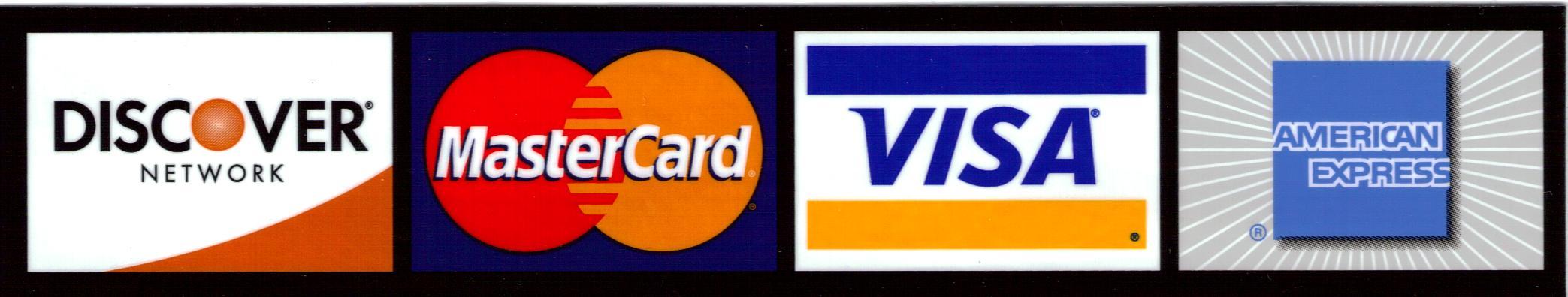 信用卡被接受