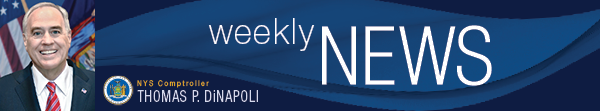 New York State Comptrollers Weekly News