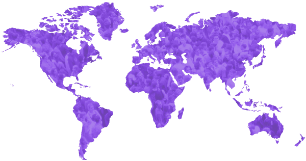 World map - 1 billion people suffer from sleep apnea
